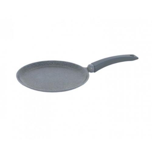 Сковорода BIOL Гранит-Грей для млинців 22 см  алюміній з антипригарним покриттям 22084М