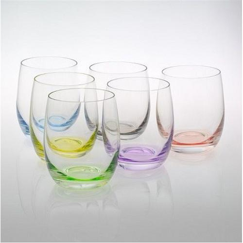 Набір склянок Bohemia Rainbow 300мл.