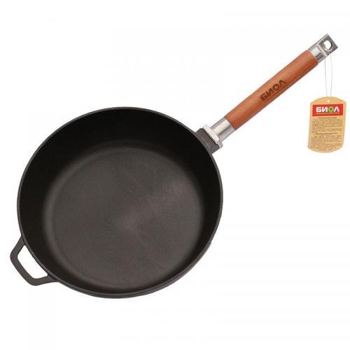 Сковорода BIOL знімна ручка 26 см  чавун 0326