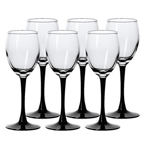 Domino Набір бокалів для вина 250мл.