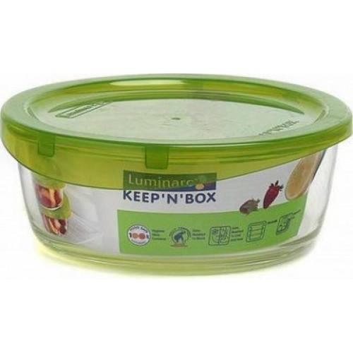 Контейнер Luminarc Keep`n`box 630мл.круглый с крышкой стекло/пластик СХ-L8777 Франция