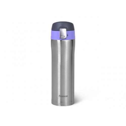 Термокухоль Fissman 420 мл  фіолетовий нержавіюча сталь 9818