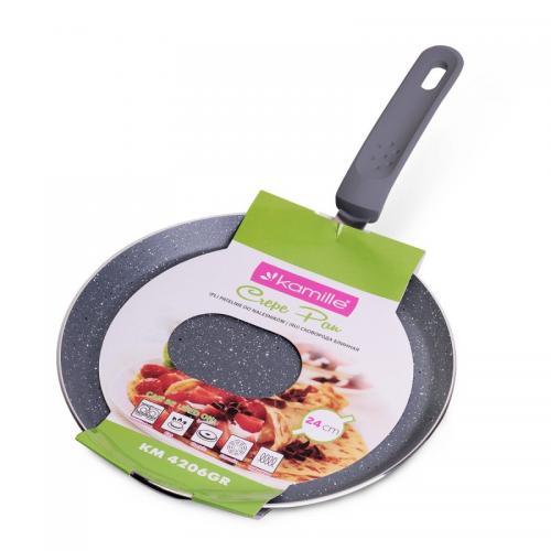 Сковорода Kamille для млинців алюміній з антипригарним покриттям 0620
