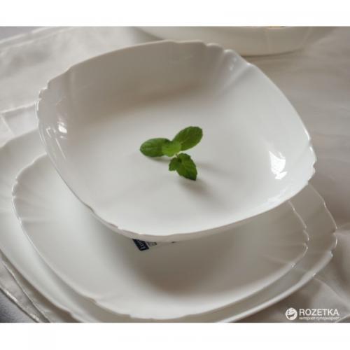 Тарелка Lotusia глубокая 22.5см. Luminarc