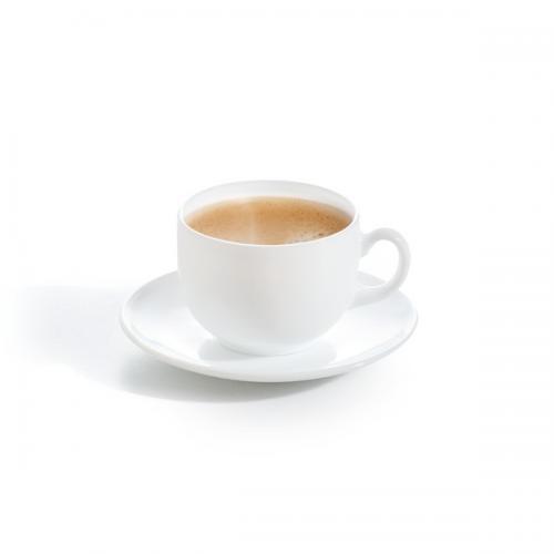 Набір чашок Luminarc Essence white 220 мл  склокерамика Р3380