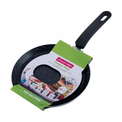 Сковорода Kamille для млинців алюміній з антипригарним покриттям 0619