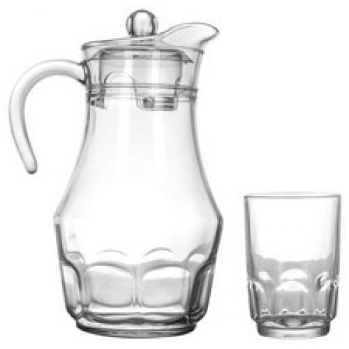 Набір Luminarc Arcopal глечик 1,6л., 6 стаканів 270мл.