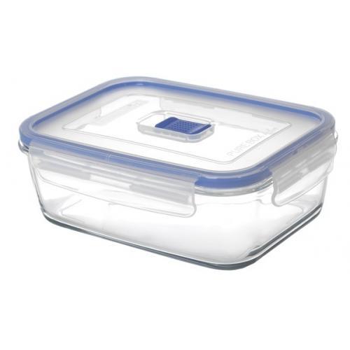 Контейнер Luminarc Pure Box Active 380мл.прямоугольный с крышкой стекло/пластик СХ-H7679 Франция