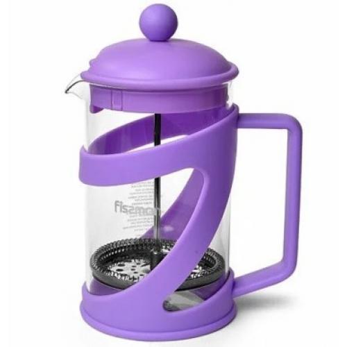 Заварювальний чайник Fissman з поршнем ARABICA 800 мл  скло 9041