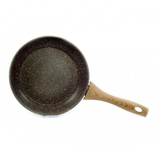 Сковорода Fissman Magic Brown 24см. (індукційне дно) кам'яне покриття