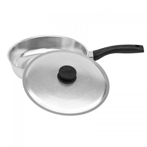 Сковорода BIOL Блеск з кришкою 22 см  алюміній 2207БК