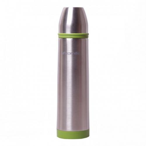 Термос Kamille 1 л  зелений нержавіюча сталь КМ-2059