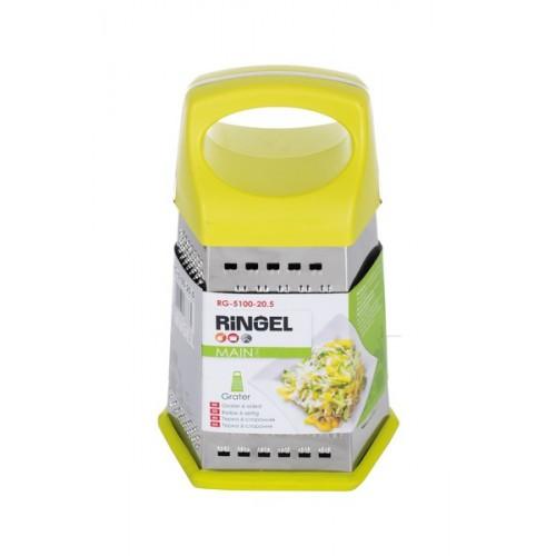 Терка Ringel Main 6ті стороння 20,5 см  пластамаса RG-5100-20.5