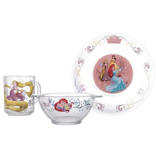 Детский набор Disney Принцессы 3пред. Luminarc