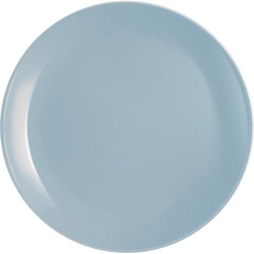 Тарелка обеденная Luminarc Diwali Light Blue 25см. стеклокерамика ФС-Р2610 Франция