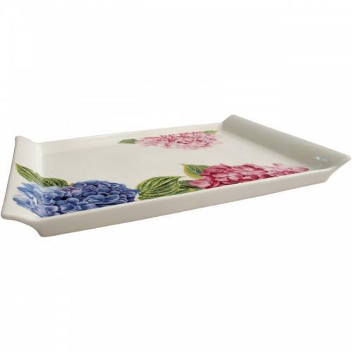 Блюдо Astera Hortensie прямокутне 21x14,5х2см  порцеляна А0510-33-12А
