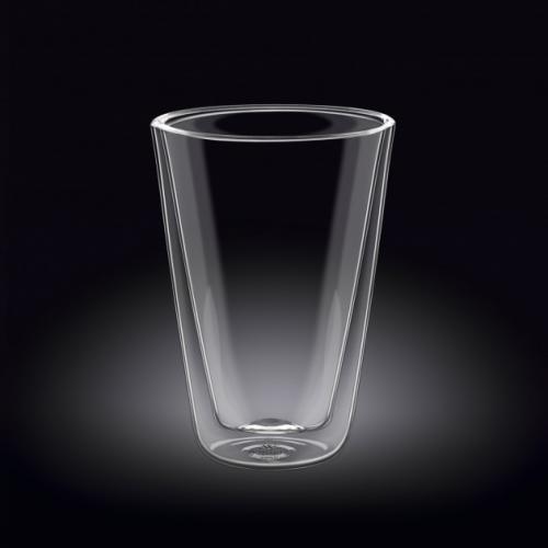 Стакан с двойным дном Wilmax 400мл. стекло WL-888706/A Китай Vinsent