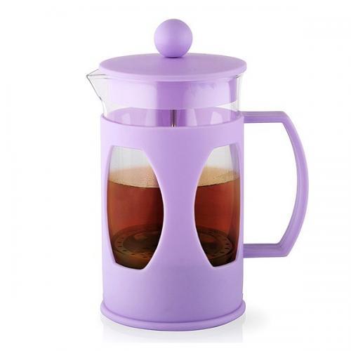 Заварювальний чайник Fissman з поршнем MOKKA 600 мл  скло 9004