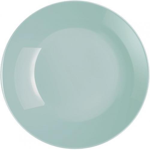 Тарелка десертная Luminarc Diwali Light Turquoise 19см. стеклокерамика ФС-Р2613 Франция
