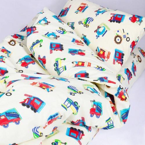 Комплект постільної білизни Viluta ранфорс Дитячий  20123 черв.