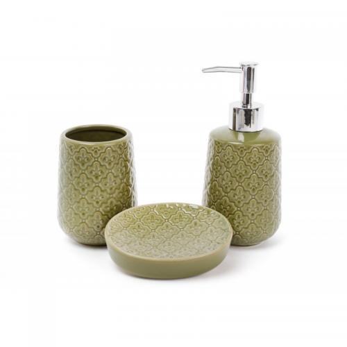 """Набор для ванной """"Зеленый"""" Bona Di"""