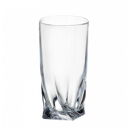 Набір склянок Чехия Quadro 350мл.6шт. Bohemia 350мл. хрустальное стекло СХ-99А44