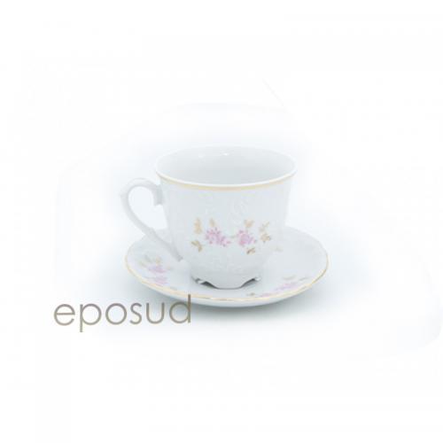 Чашка з блюдцем Cmielow Rococo 9704 170мл.