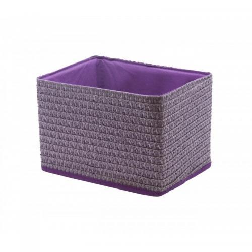 Короб лиловый без крышки складной  Handy Home