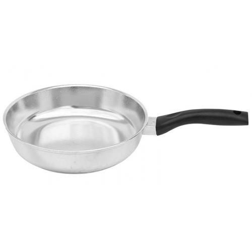 Сковорода BIOL Блеск з кришкою 26 см  алюміній 2607БК