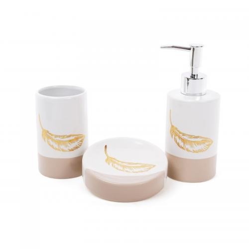 """Набор для ванной """"Золотое перо"""" Bona Di"""
