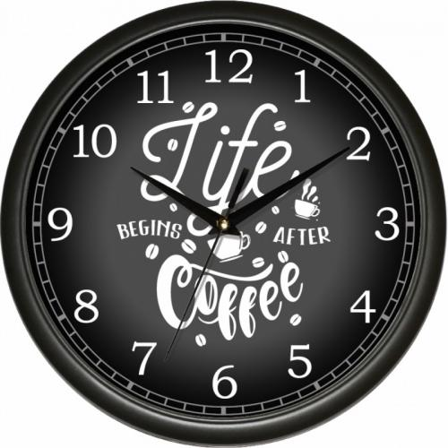 "Годинник Classique ""Кава чорна"" UTA"