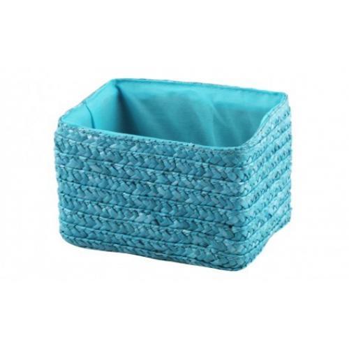 Корзина без крышки Голубой 21х16х16 текстиль, картон QR09-S Handy Home, Китай