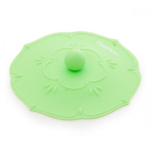 Кришка Fissman 11,5см.(зелений чай) силікон