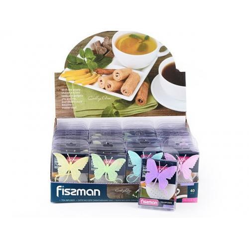 Ситечко Fissman для заварювання чаю Метелик 6см.