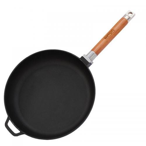 Сковорода BIOL знімна ручка 24 см  чавун 0124