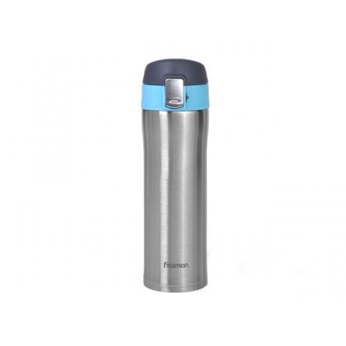 Термокухоль Fissman 420 мл  блакитний нержавіюча сталь 9816