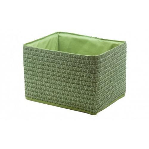 Корзина без крышки Зеленый текстиль, картон QR01-M Handy Home, Китай
