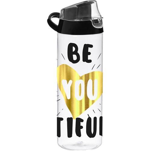 Пляшка для води Herevin Beatiful Gold 750 мл  пластмаса 161506-030