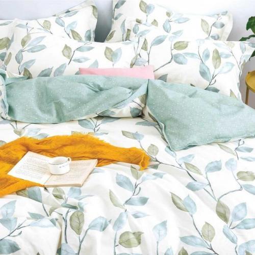Комплект постільної білизни Viluta Сатин твіл Двоспальний  507