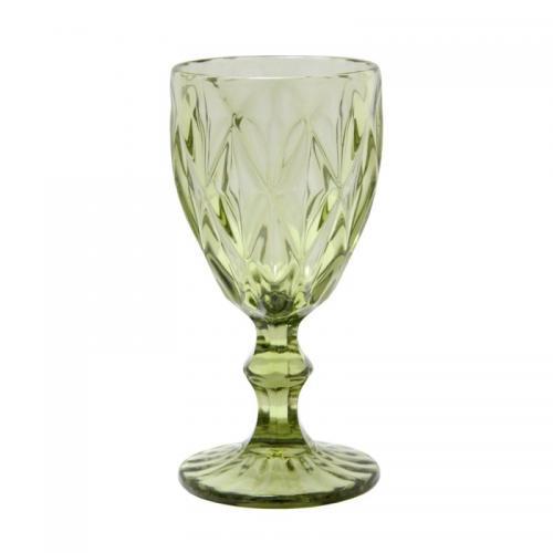 """Бокал для вина """"Изумруд"""" 250мл. зеленый Olens"""