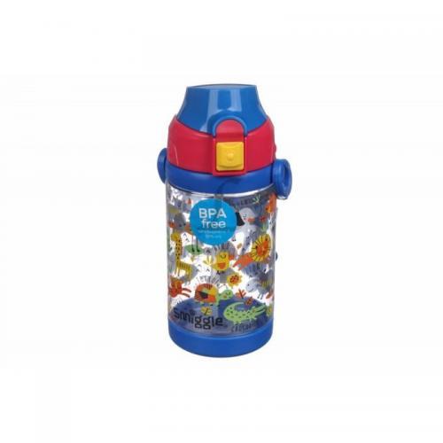 Бутылочка LaPrida Smiggle 450мл. синяя 17,5х7х7см. пластмаса La Prida 61-407 Китай