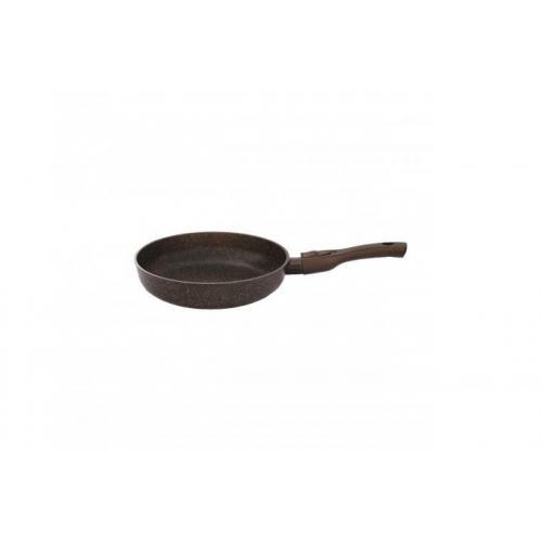 Сковорода BIOL Гранит Браун 24 см  24см. алюміній з антипригарним покриттям 24133П