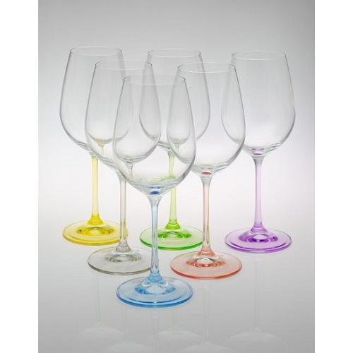 Bohemia Rainbow Набір бокалів для вина 550мл. 6шт. СХ-40729/550 Bohemia, Чехія