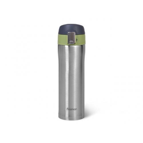 Термокухоль Fissman 420 мл  зелений нержавіюча сталь 9817