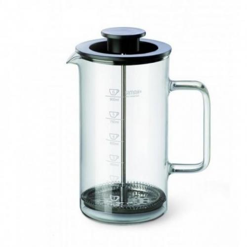 Чайник заварювальний SIMAX Exclisiv френч-прес 1 л  жаростійке скло s203