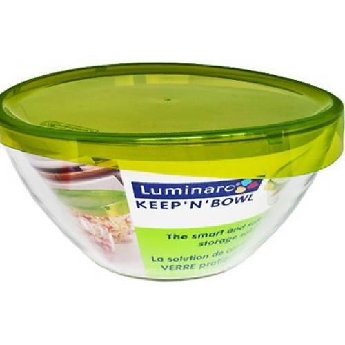 Салатник Luminarc Keep`n`box 170 с крышкой стекло/пластик СХ-G4384 Франция