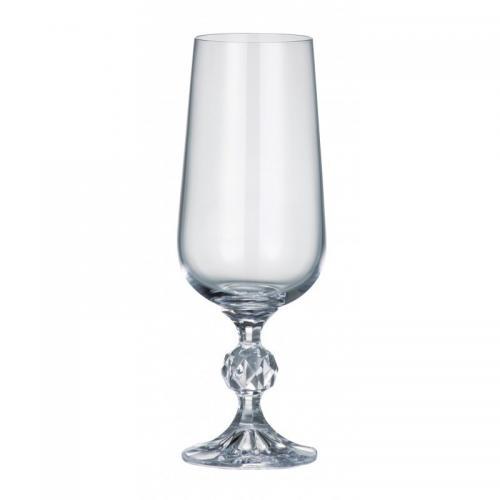 Набір бокалів Bohemia Claudia для шампанського 180мл. 6шт. 180мл. стекло Bohemia СХ-40149-180 Чехия