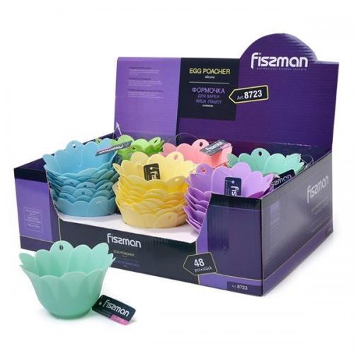Форма для варки яиц пашот  Fissman